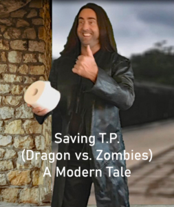 5a-poster_Saving T.P. (Dragon vs. Zombies) - a modern tale